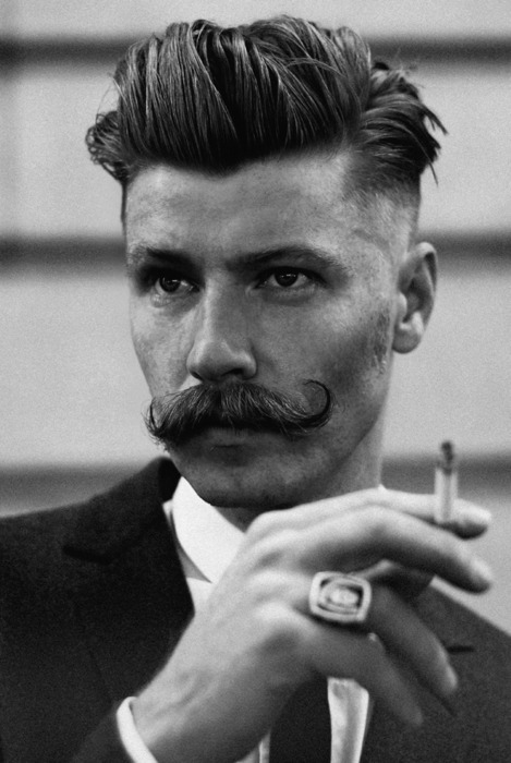 mustaches, not to mention impeccable hairstyles and classic fashion